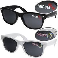 bride and groom gift ideas to give bride sunglasses